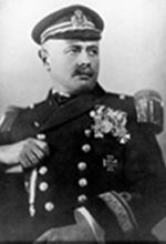 Korvettenkapitän, Georg Johannes Ritter von Trapp in uniform, known as Baron von Trapp, was an Austro-Hungarian Navy officer. His exploits at sea during World War I earned him numerous decorations, including the prestigious Military Order of Maria Theresa.