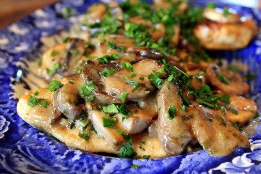 ... Chicken Turkey, Tarragon Cream, Cream Sauce, Food, Chicken Mushrooms