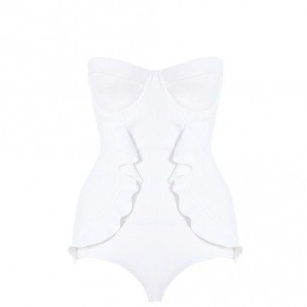 Celestial Bonded Frill 1 Pc - Swimwear - Swim & Resort