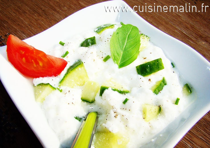 Cucumber  Brousse Malin:  Cucumber  Brousse by Cuisine Malin. Easy entree...