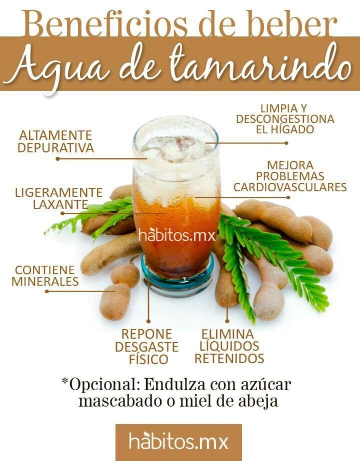 Beneficios del agua de tamarindo