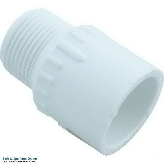 "Lasco SCH40 MIP PVC Adapter [3/4"" Slip x MPT] (436-007)"