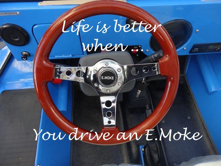 Life is better when you drive an E.MOKE