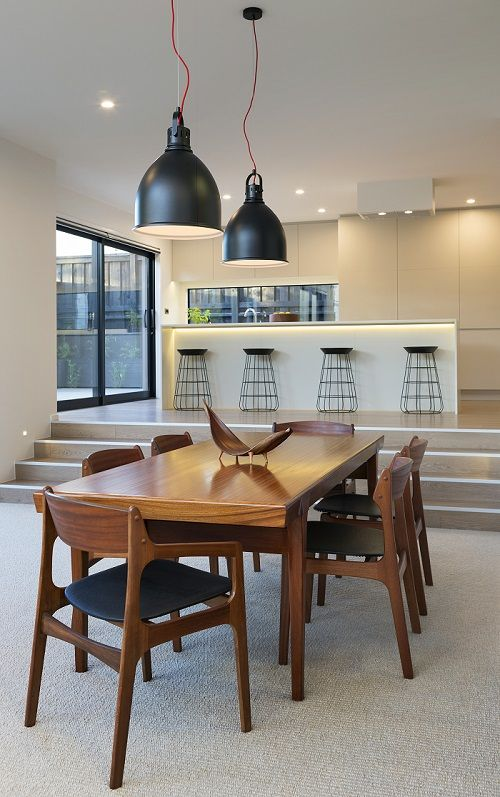 Contemporary Living Dining and Kitchen interior design services by Urban Lounge Interiors