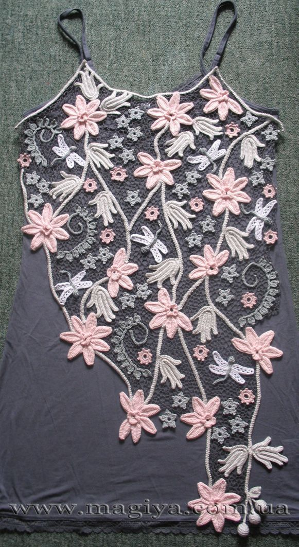 Irish+Crochet+Lace+Free+Patterns   ... lace when the tank wears out the lace could be applied to another one