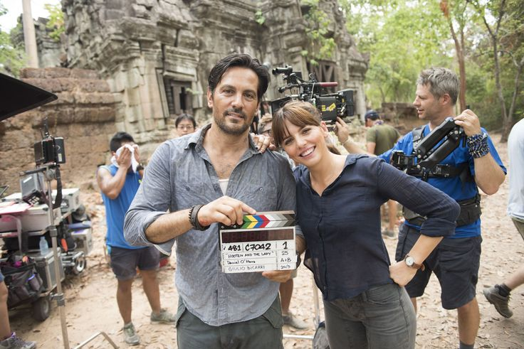 Where was Hooten & the Lady filmed? Who is Michael Landes?