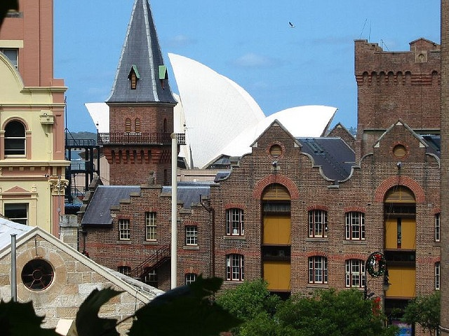 The Rocks: The Rocks, with Opera House in the background by Flickr user JSA_NZ