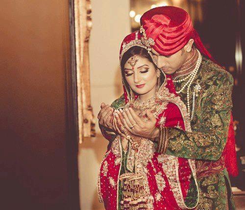 Dulhan Bride Dulha Groom Indian Pakistani South Asian Desi Wedding