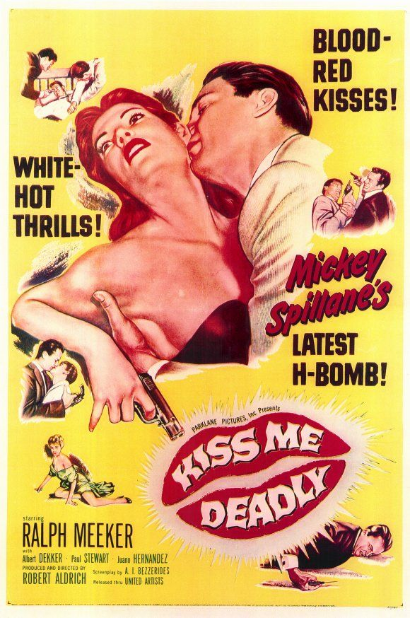 """Classic 50's Movie: """"Kiss Me Deadly"""" 