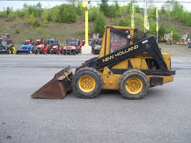 New Holland L784 Skid Steer Loader Parts List Manual Excavator New Holland Repair Manuals Repair
