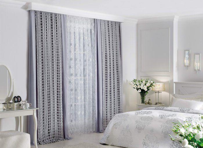 Luxury gardinen f rs schlafzimmer