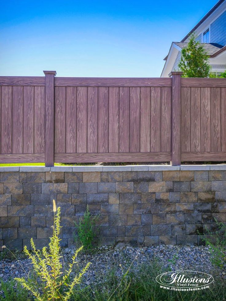 1000 Ideas About Vinyl Fence Panels On Pinterest Chain