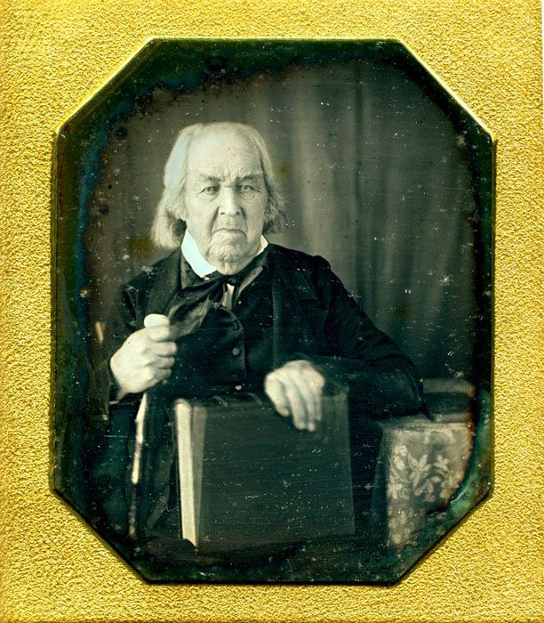 Rev. Levi Hayes a Revolutionary War veteran picture among several other vets