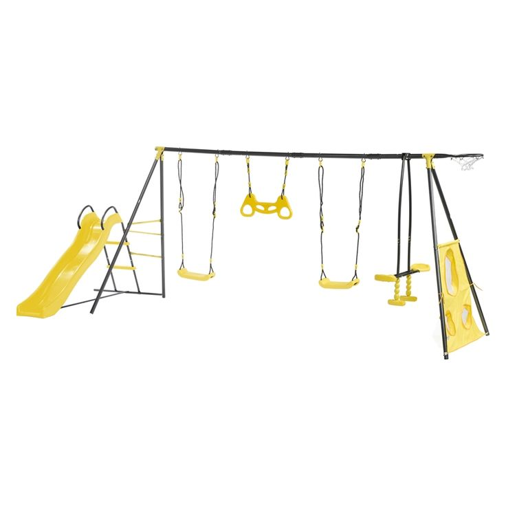 Find Swing Slide Climb 7 Function Play Set at Bunnings Warehouse. Visit your local store for the widest range of outdoor living products.