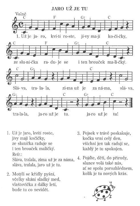 Písničky, hudební výchova | Předškoláci.cz - omalovánky, pracovní listy - strana…