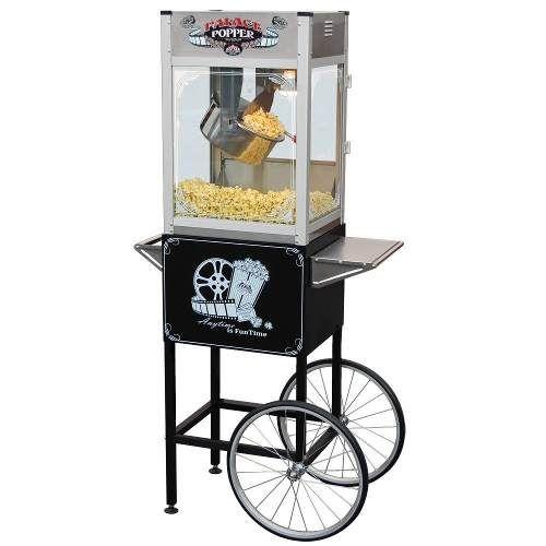 Maquina Para Palomitas De Maiz 8 Oz Comercial Carrito Hm4 5600