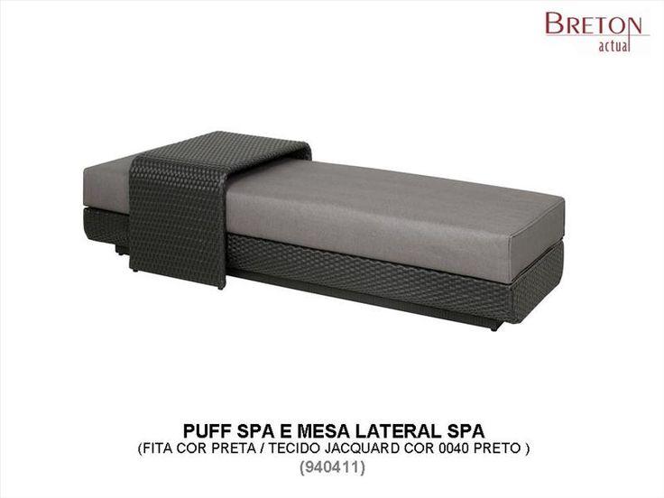 Puff Spa e mesa lateral breton