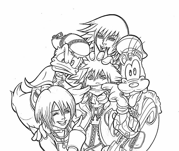 appealing kingdom hearts coloring pagescoloring pages artfuloceans the 36 best images about artes para colorir on pinterest street - Coloring Pages Hearts 2
