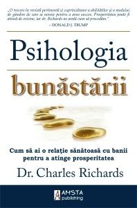 Catalog-Cursuri.ro va recomanda Psihologia bunastarii - Dr. Charles Richards.  http://www.catalog-cursuri.ro/ArticolBiblioteca-Psihologia_bunastarii-Resursa-50.html