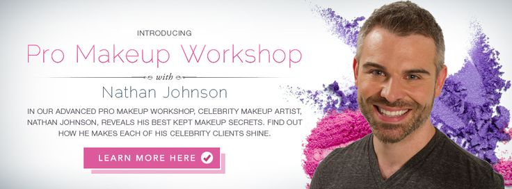 QC Makeup Academy - Online Makeup Courses with celebrity makeup artist Nathan Johnson!