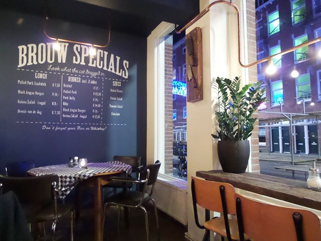 Bar Brouw Amsterdam: new location at Beukenplein in East
