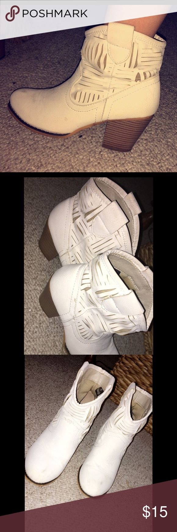 1000 Ideas About White Ankle Boots On Pinterest Bootie