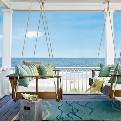 R: Beds Rooms, Bedrooms Design, The View, Porches Swings Ideas, Back Porches, Coastal Living, Dreams Porches, Beaches Houses, Front Porches