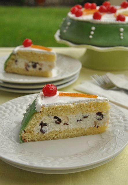 Cassata Siciliana - il mio #dolce preferito. a pari merito con tiramisù, sacher, mimosa, caprese, torta alla frutta...