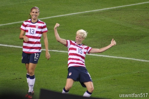 Pinoe always cracks me up