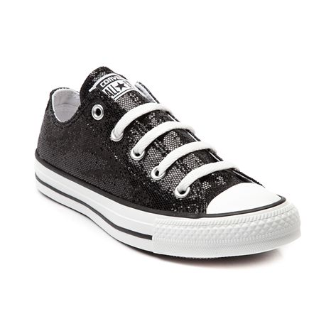b19020625be924 Shop for Converse All Star Lo Glitter Sneaker in Black Sparkle at Shi by  Journeys. Shop today for the hottest brands in womens shoes at J…