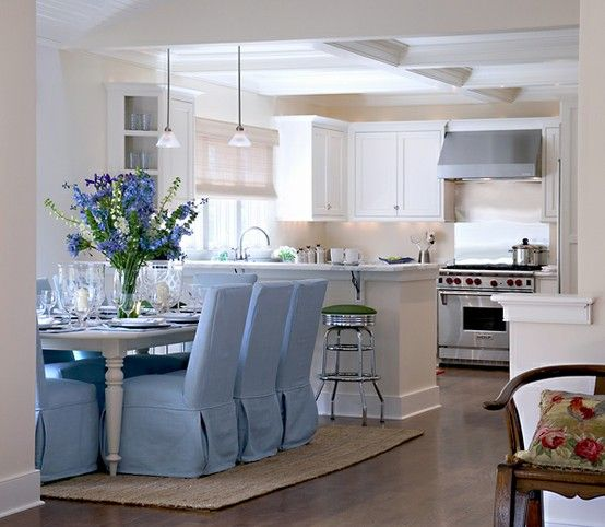 Open Kitchen Decor: 132 Best Blue And White Images On Pinterest