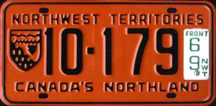 "Northwest Territories ""Canada's Northland"" series (1966-1969)"
