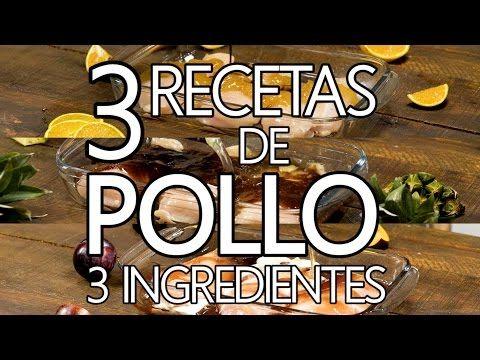 (48) 3 recetas de Pollo | Recetas Rápidas - YouTube