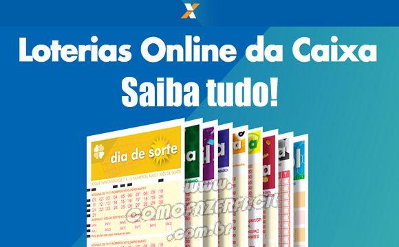Como Apostar Nas Loterias Online Caixa Pela Internet Loterias Caixa Dinheiro Comofazer Dicas Online Boatarde Sexta Apost Loterias Apostas Online Caixa