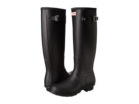 Hunter Women's Original Tall Rain Boots - Matte Black