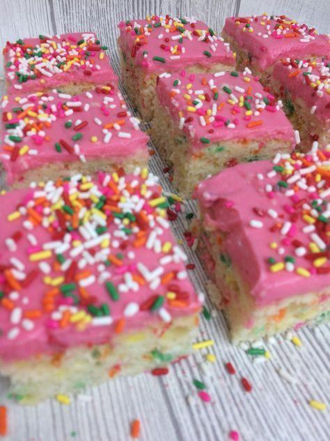 Konfettikuchen zum Kindergeburtstag mit Rezept –   – Leben