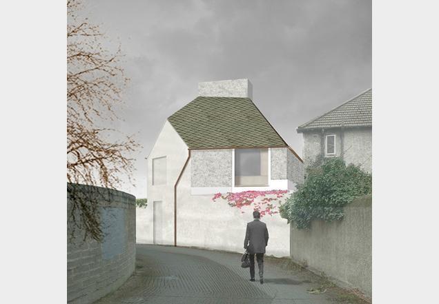 A house in a garden   David Leech architects