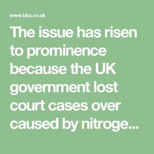 The issue has risen to prominence because the UK government lost court cases over caused by nitrogen dioxide levels. It has been compounded by the fact car makers were found to be cheating emissions tests.