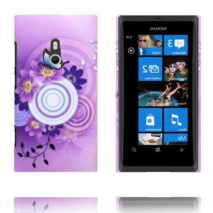 Valentine (Lilla Himmel - Hvit Sirkel) Nokia Lumia 800 Deksel