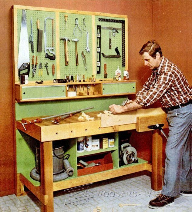 3688-Garage Workbench Plans