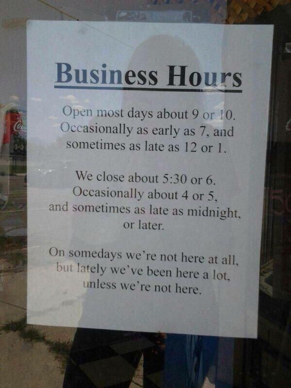 The inconvenience store