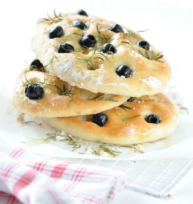 Focaccia s olivami Foto: Chléb v hlavní roli