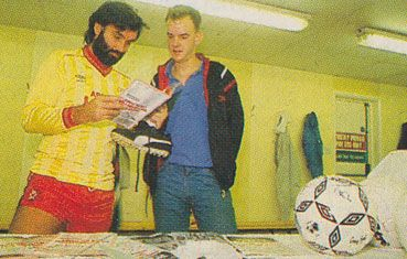 George Best and Norman Cook from The Housemartins