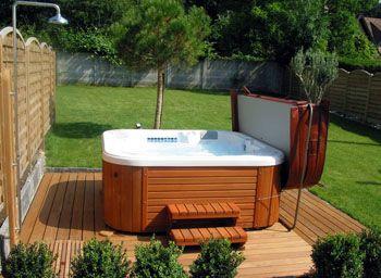 25 b sta id erna om whirlpool selber bauen p pinterest schwimmteich selber bauen jacuzzi. Black Bedroom Furniture Sets. Home Design Ideas