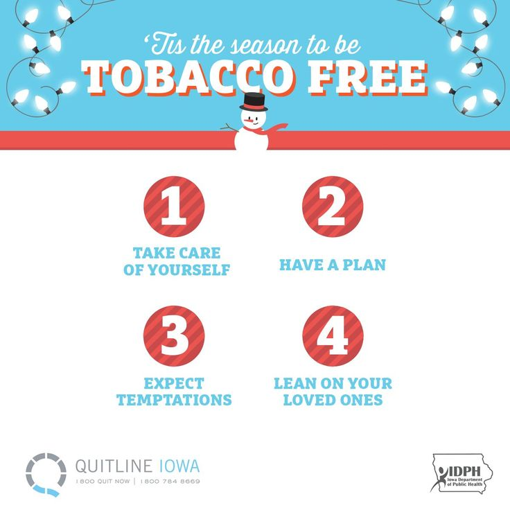 It's the season to be tobacco free.