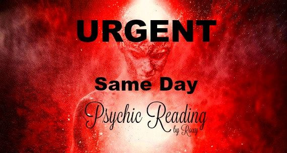 Urgent Same Day Psychic Reading, Spiritually Guided Tarot Reading, Detailed Accurate Emergency Reading Within 24 Hours, Love, Life, Career by PsychicReadingByRoxy on Etsy