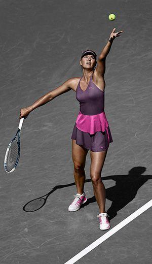Shop Maria Sharapova's gear here: http://www.midwestsports.com/maria-sharapova/c/500083/