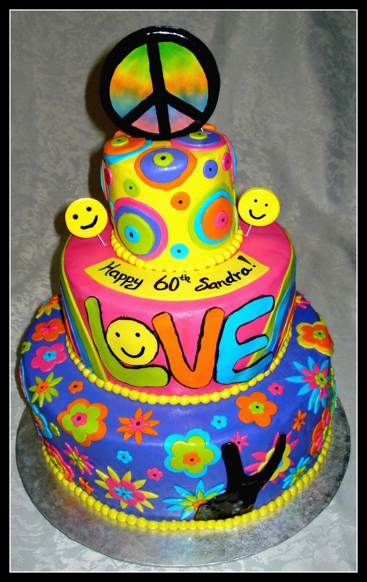 Woodstock Festival Birthday Cake Images