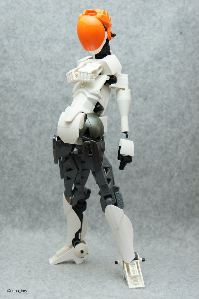 """""""Female BIONICLE"""" by nobu_tary: Pimped from Flickr"""