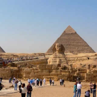 Sphinx & Pyramid of Giza
